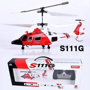 Helicóptero de Salvamento R/C S111G - 3 Canais