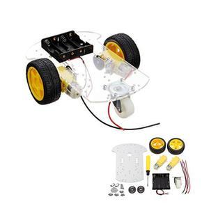 Kit chassi 2wd para robo arduino