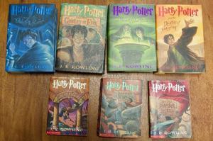 Coleção Dos 7 Livros Harry Potter Em Inglês, Primeira