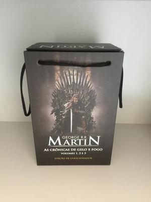 Coleção Game of Thrones - Livros 1, 2, 3 Novos