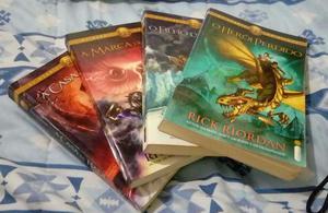 Coleção Percy Jackson Livros de Aventura