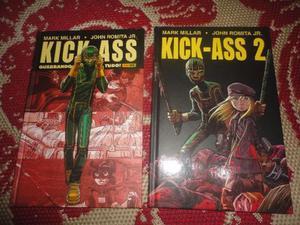 HQ Kick-Ass Vol.01 e 02 - Panini Capa Dura