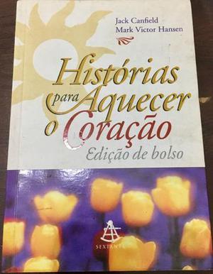 Livro Histórias para Aquecer o Coração, edição de bolso