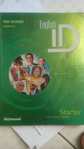 Livro de inglês english id starter