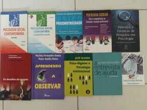 Livros usados e bem conservados