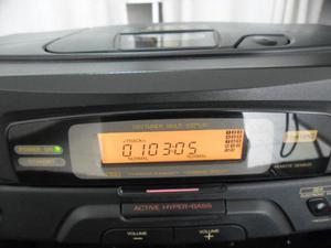 Radio portatil Bombox JVC mod PC X 130