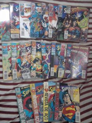 Super-homem E Superboy Abril R3 cada, mínimo 15