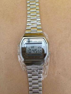 cf224784b729 Relógio casio retro gold primeira linha na caixa