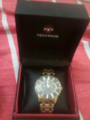 Relógio de dourado technos