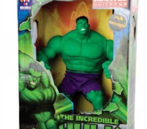 Boneco Hulk verde mimo gigante