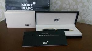 Caneta Mont Blanc Meistertuck