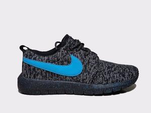 Tênis Nike Roshe grafite e azul novo na caixa - entrega