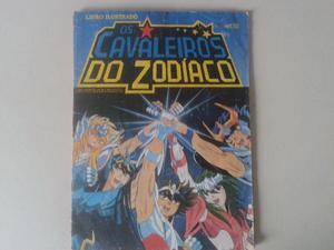 Álbum Livro Ilustrado dos Cavaleiros do Zodíaco (CDZ) -