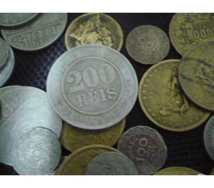 50 Quilos de Moedas Antigas e Variadas R$500 Todas
