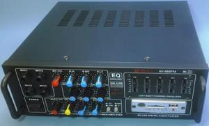 Amplificador Digital 800W Pmpo 8 Canais Efeito Equalizador