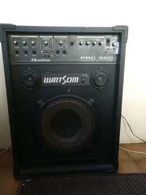 Caixa de som amplificada wattsom