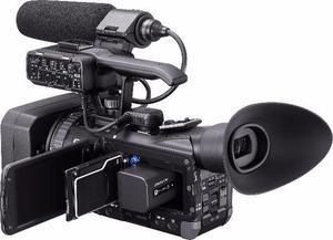 Filmadora Profissional Sony hxr nx70 em 10x no cartão