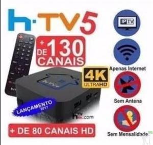 Htv5 Box Iptv - 4k - Original