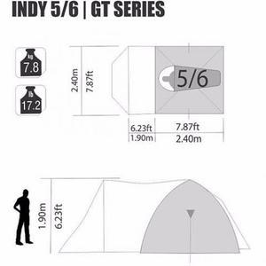 Barraca De Camping 5/6 Pessoas Indy - Nautika