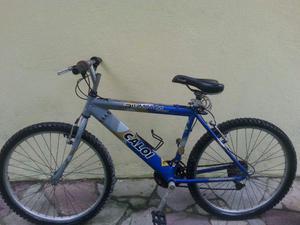 Bicicleta Caloi toda em alumínio R