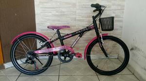 Bicicleta caloi aro 20 / barbie