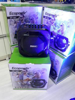 Caixa de Som Com Bluetooth Ecopower