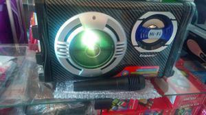 Caixa de som amplificada ecopower