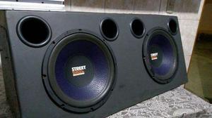 Som Com 2 Sub 12 Selenium Street Bass, Modulo Falcon Swt