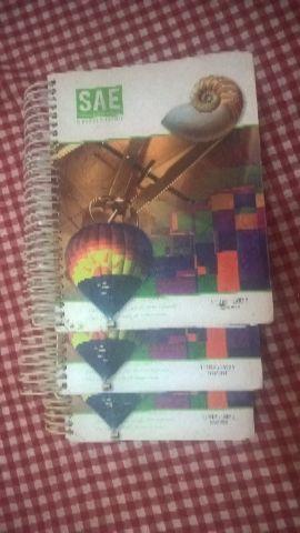 3 Livros Ensino Médio 1 Série SAE