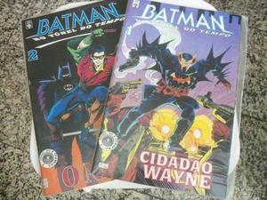 Edições especiais Batman - No Túnel do Tempo 1 e 2