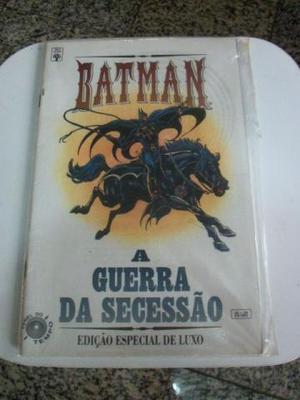 Edição especial de luxo Batman - A Guerra de Secessão