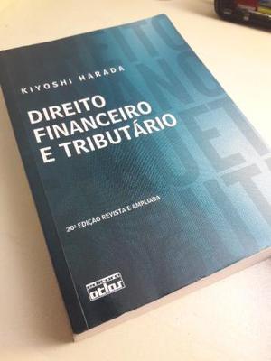 Livro de Direito: Direito Financeiro e Tributário - Kiyoshi