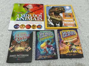Lote de livros Infanto Juvenis