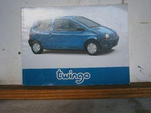 Manual do proprietário do renault twingo