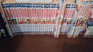 Vendo ou troco coleção inteira de mangas do Naruto