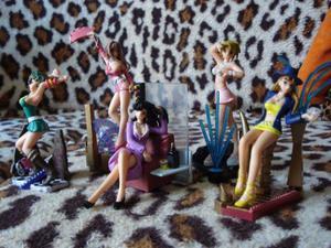 "Action Figures ""Dance Girls"" (Originais da Takara)"