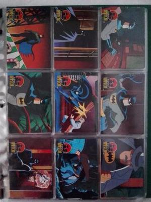 Coleção De Cards The Adventures Of Batman & Robin ()