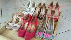 Lote de sapatos de salto num 36