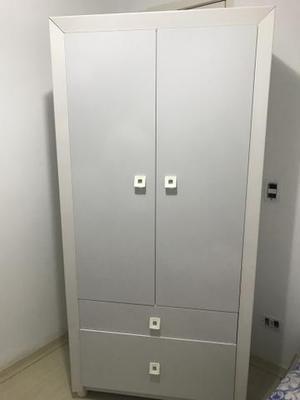 Armário 2 portas e 2 gavetas 100%MDF