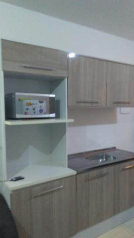 Armário cozinha com pia inox