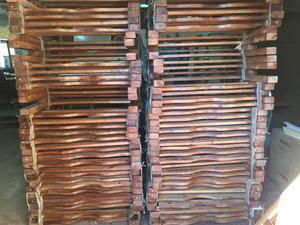 Beliche madeira maciça cor imbuia (novo) promoção