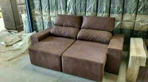 Sofa Adriana retratil e reclinável - Novo direto da