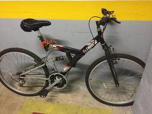 Bicicleta Track Bikes TB 100 XS Aro 26 Com Suspensão Dupla