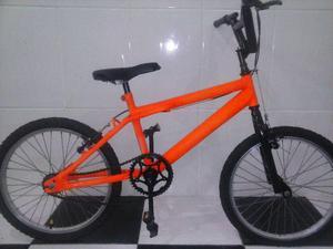 Bicicleta tipo BMX aro 20 lindona