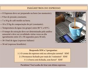 Máquina de Café Espresso Profissional + Café em Grãos
