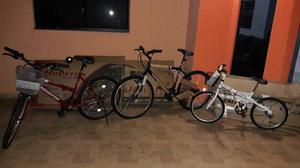Vendo 3 bicicletas novas