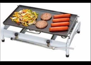 Fogão 2 Bocas com Chapa a gás Hot Dog Hambúrguer Cachorro