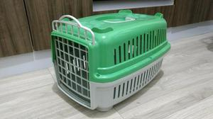 Caixa de transporte e toca para gato ou cachorro pequeno