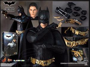 Batman e Coringa (Joker) - Hot Toys - The Dark Knight -