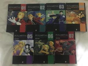 Fullmetal Alchemist Volume 1 ao 7